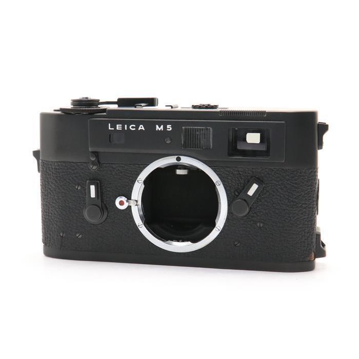 【あす楽】 【中古】 《並品》 Leica M5 ブラック 【ファインダー内清掃/シャッタースピード調整/各部点検済】