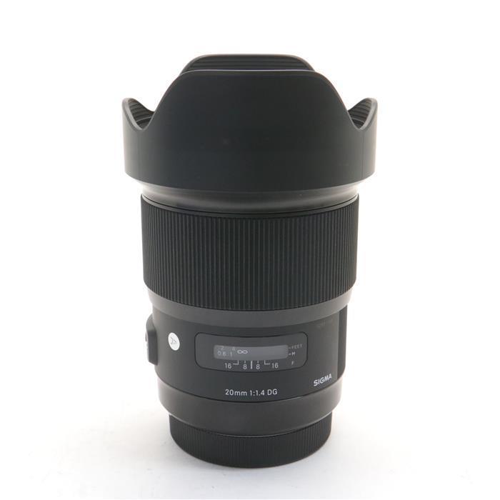 【あす楽 F1.4 交換レンズ】【中古】 《美品》 SIGMA A 20mm F1.4 Lens DG HSM(キヤノン用) [ Lens | 交換レンズ ], ELLY タオル館:51c7ecfe --- officewill.xsrv.jp