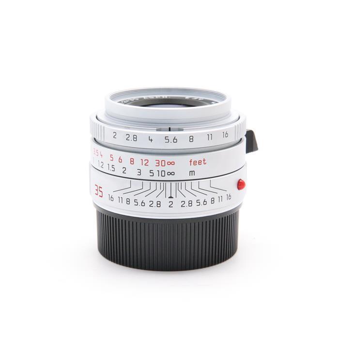 【あす楽】 【中古】 《良品》 Leica ズミクロン M35mm F2.0 ASPH. (6bit) (フードはめ込み式) シルバー [ Lens | 交換レンズ ]