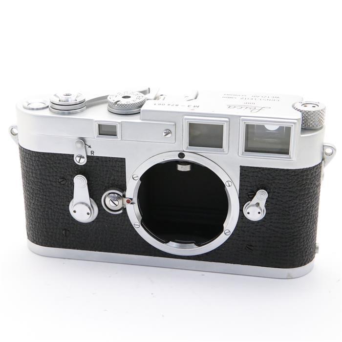 【あす楽】 【中古】 《良品》 Leica M3 (2回巻き上げ) 【ファインダー内クリーニング/シャッター距離計調整/各部点検済】