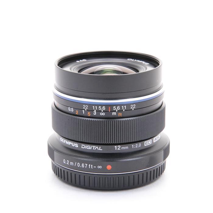 【あす楽】 【中古】 《美品》 OLYMPUS M.ZUIKO DIGITAL ED 12mm F2.0 ブラック (マイクロフォーサーズ) [ Lens | 交換レンズ ]