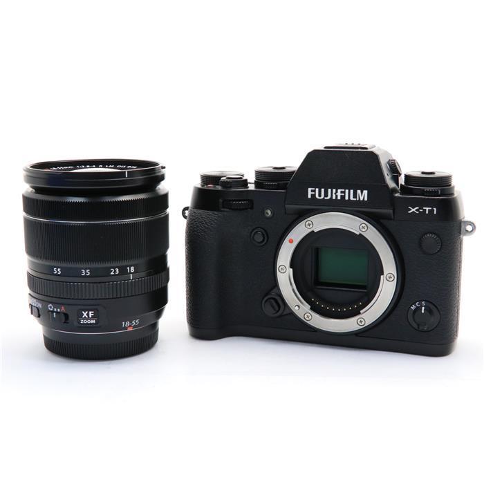 【代引き手数料無料!】 【あす楽】 【中古】 《良品》 FUJIFILM X-T1 + XF18-55mmキット ブラック [ デジタルカメラ ]