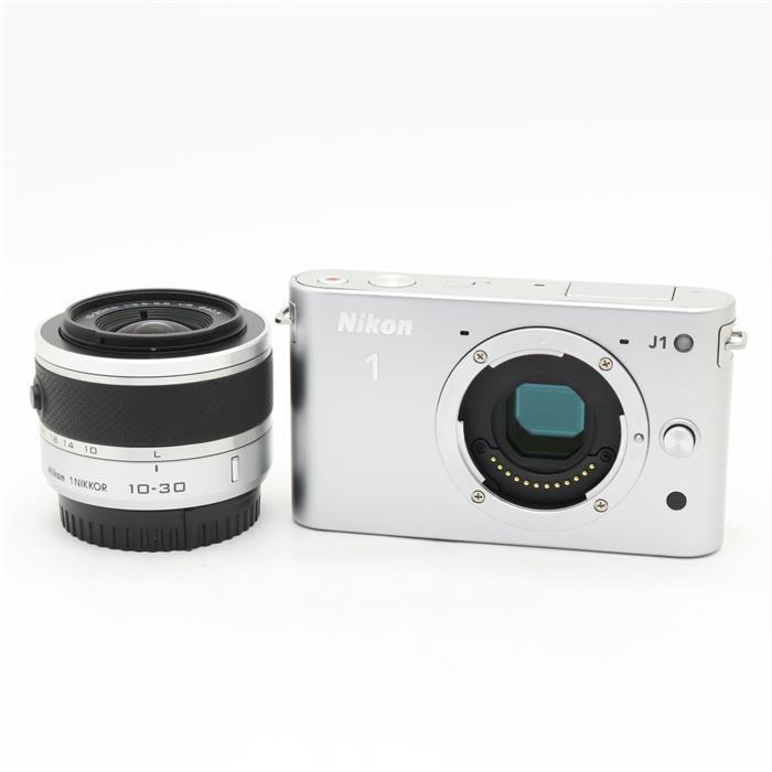 【あす楽】 【中古】 《良品》 Nikon Nikon 1 J1 標準ズームレンズキット シルバー [ デジタルカメラ ]
