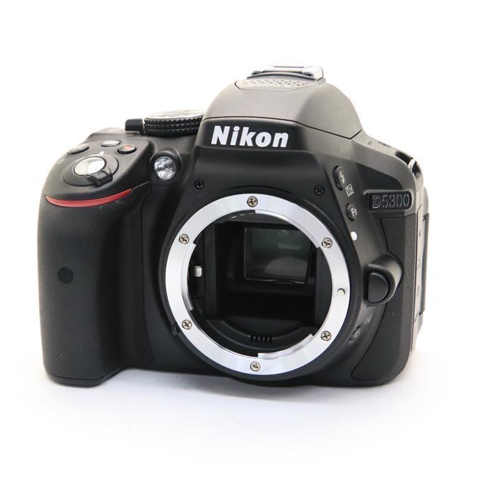 【あす楽】 【中古】 《美品》 Nikon D5300 ボディ ブラック [ デジタルカメラ ]