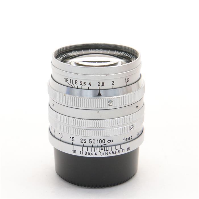【あす楽】 【中古】 《並品》 Leica ズマリット L50mm F1.5 (前期) 【ピントリング作動調整/各部点検済】 [ Lens | 交換レンズ ]