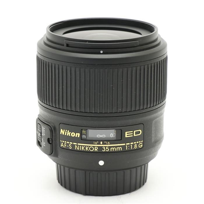 【あす楽】 【中古】 《美品》 Nikon AF-S NIKKOR 35mm F1.8G ED [ Lens | 交換レンズ ]