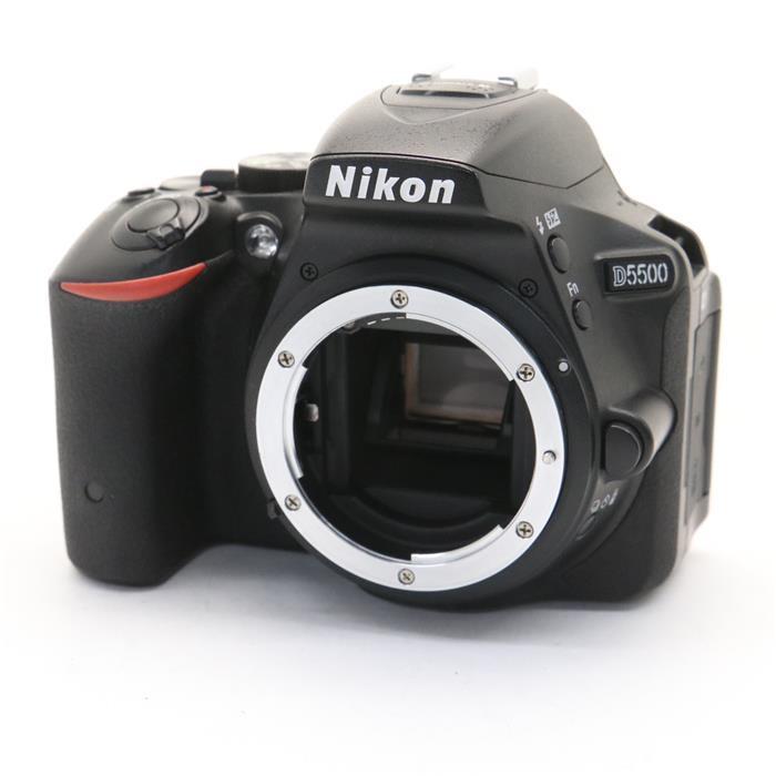 【あす楽】 【中古】 《良品》 Nikon D5500 ボディ ブラック [ デジタルカメラ ]