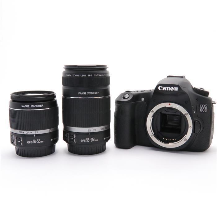 【あす楽】 【中古】 《並品》 Canon EOS 60D ダブルズームキット [ デジタルカメラ ]