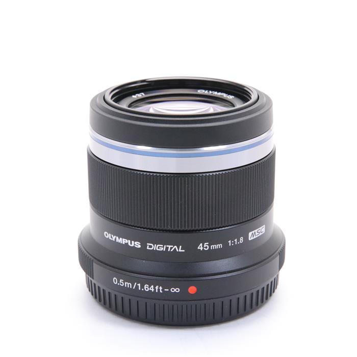 【あす楽】 【中古】 《美品》 OLYMPUS M.ZUIKO DIGITAL 45mm F1.8 ブラック (マイクロフォーサーズ) [ Lens   交換レンズ ]