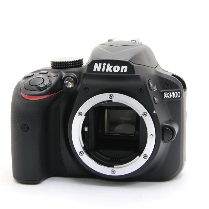 【代引き手数料無料!】 【あす楽】 【中古】 《良品》 Nikon D3400 ボディ ブラック [ デジタルカメラ ]