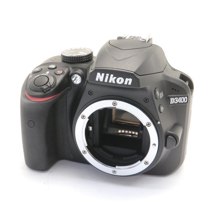 【あす楽】 【中古】 《良品》 Nikon D3400 ボディ ブラック [ デジタルカメラ ]
