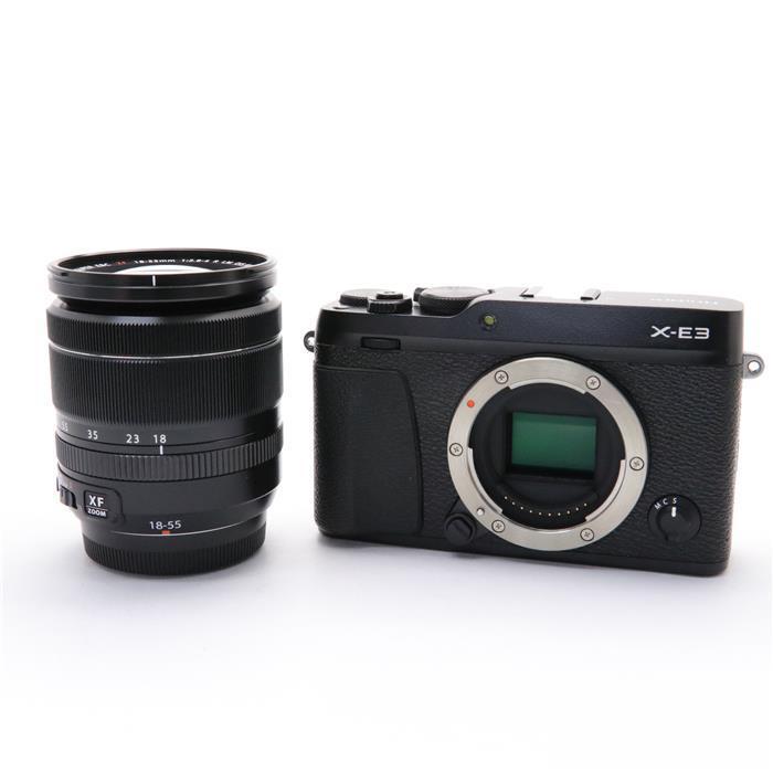 【あす楽】 【中古】 《美品》 FUJIFILM X-E3 レンズキット ブラック [ デジタルカメラ ]