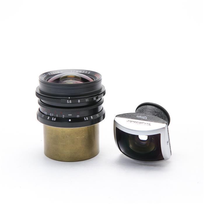 【あす楽】 【中古】 《美品》 Voigtlander ULTRA WIDE-HELIAR 12mm F5.6 Aspherical ブラック [ Lens | 交換レンズ ]