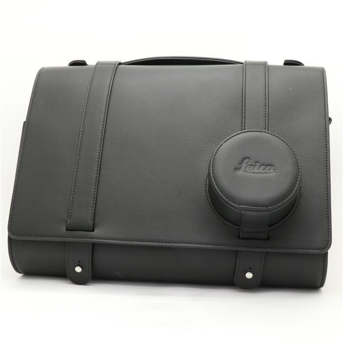 【あす楽】 【中古】 《美品》 Leica デイバッグ レザー ブラック