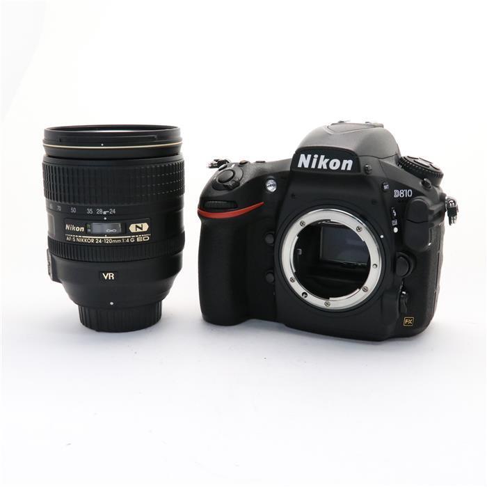 【あす楽】 【中古】 《美品》 Nikon D810 24-120 VR レンズキット [ デジタルカメラ ]