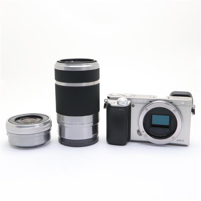 【あす楽】 【中古】 《美品》 SONY α6000ダブルズームレンズキット ILCE-6000Y シルバー [ デジタルカメラ ]