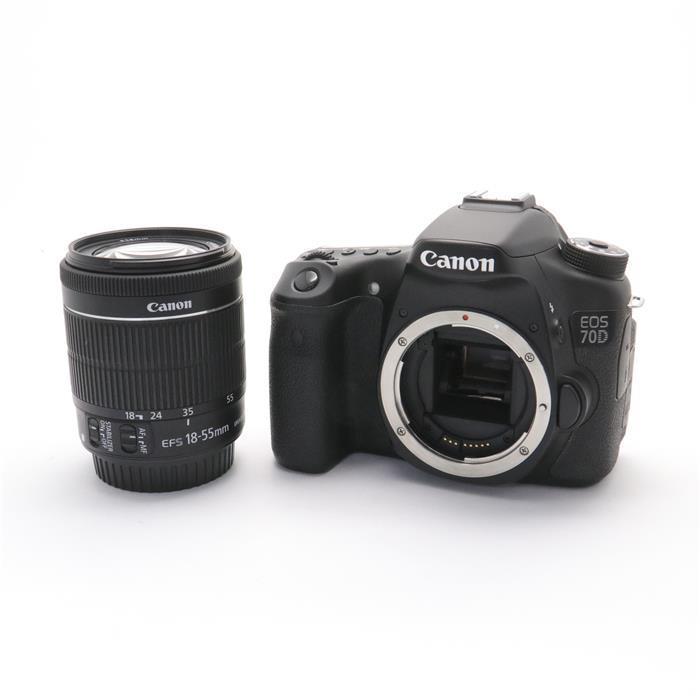 【あす楽】 【中古】 《並品》 Canon EOS 70D EF-S18-55 IS STM レンズキット [ デジタルカメラ ]