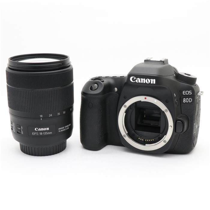 【あす楽】 【中古】 《良品》 Canon EOS 80D EF-S18-135 IS USM レンズキット [ デジタルカメラ ]