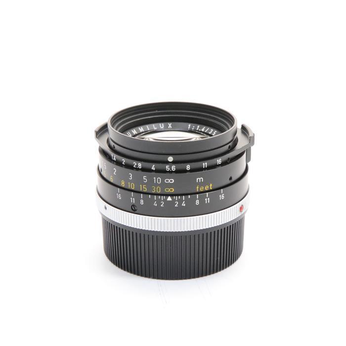 【あす楽】 【中古】 《美品》 Leica ズミルックス M35mm F1.4 2nd ブラック ストッパーなし *フィルター径無し [ Lens | 交換レンズ ]