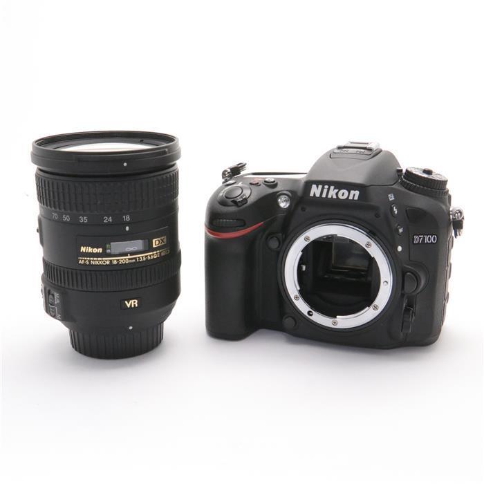 【あす楽】 【中古】 《美品》 Nikon D7100 18-200 VR II レンズキット [ デジタルカメラ ]