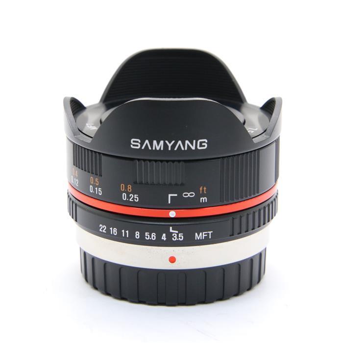 【あす楽】 【中古】 《良品》 SAMYANG 7.5mm F3.5 フィッシュアイ(マイクロフォーサーズ用) ブラック [ Lens | 交換レンズ ]