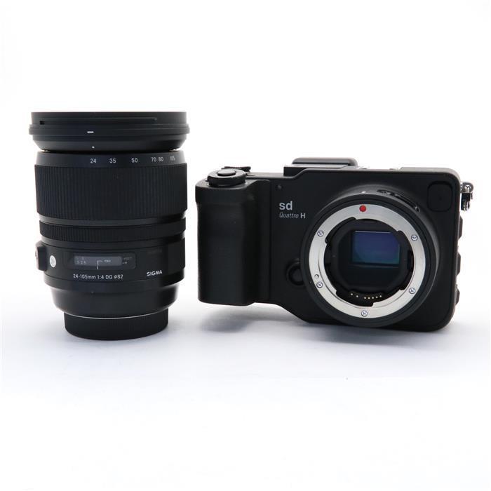 【代引き手数料無料!】 【あす楽】 【中古】 《良品》 SIGMA sd Quattro H  A 24-105mm F4 DG OS HSM レンズキット [ デジタルカメラ ]