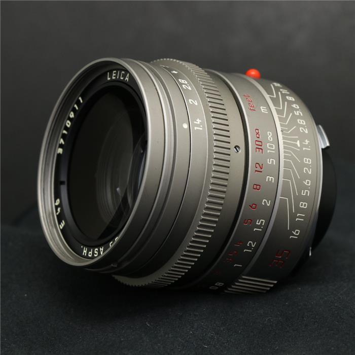 【あす楽】 【中古】 《良品》 Leica ズミルックス M35mm F1.4 ASPH チタン [ Lens | 交換レンズ ]