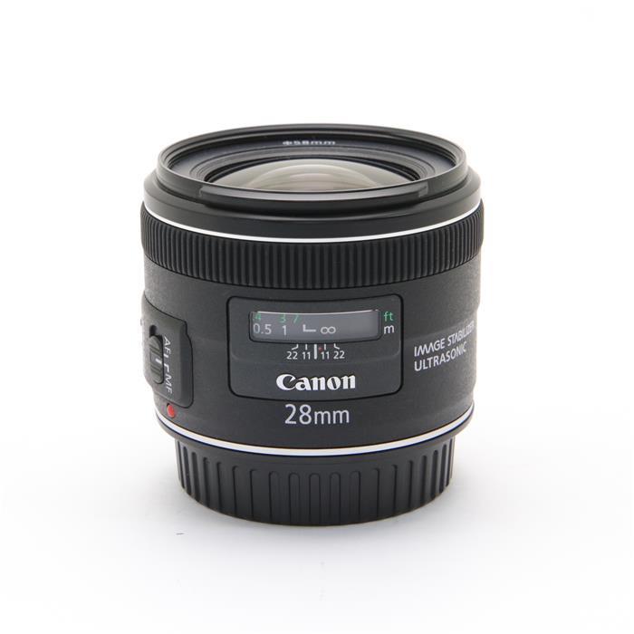 【あす楽】 【中古】 《美品》 Canon EF28mm F2.8 IS USM [ Lens | 交換レンズ ]