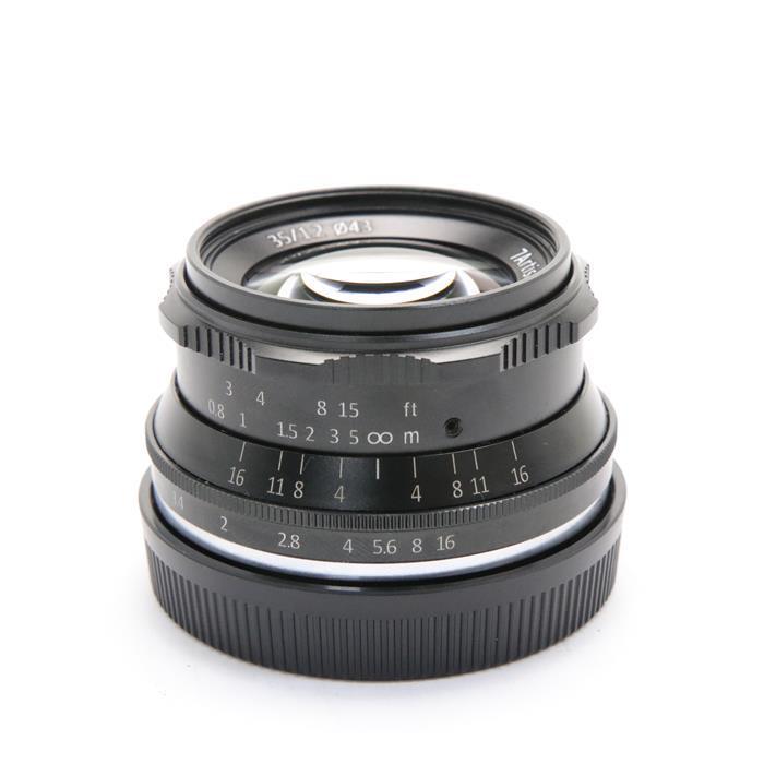 最新デザインの 【あす楽】【中古】 《美品》 七工匠 F1.2 7Artisans 七工匠 ] 35mm F1.2 ブラック(EOS M用) ブラック [ Lens   交換レンズ ], ライバルはデパート Gracefulsmile:16d3809f --- totem-info.com