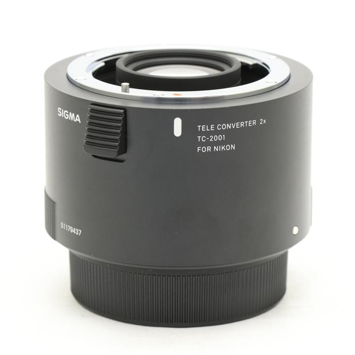 新品 【あす楽】 [【中古 ]】 交換レンズ 《美品》 SIGMA テレコンバーター TC-2001 (ニコン用) [ Lens | 交換レンズ ], イージーブラインド:2010c841 --- totem-info.com