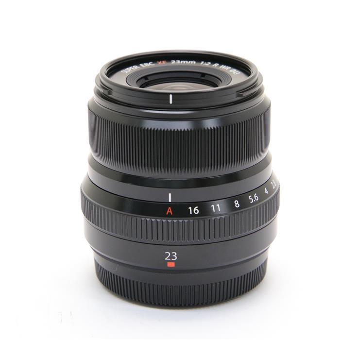 【あす楽】 【中古】 《美品》 FUJIFILM フジノン XF23mm F2 R WR ブラック [ Lens   交換レンズ ]