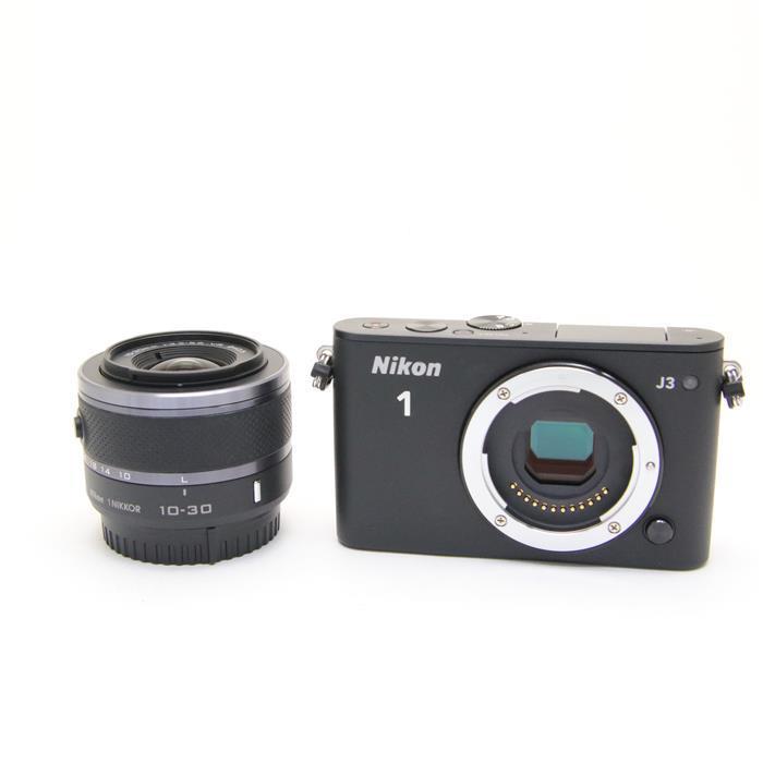 【あす楽】 【中古】 《良品》 Nikon Nikon 1 J3 標準ズームレンズキット ブラック [ デジタルカメラ ]