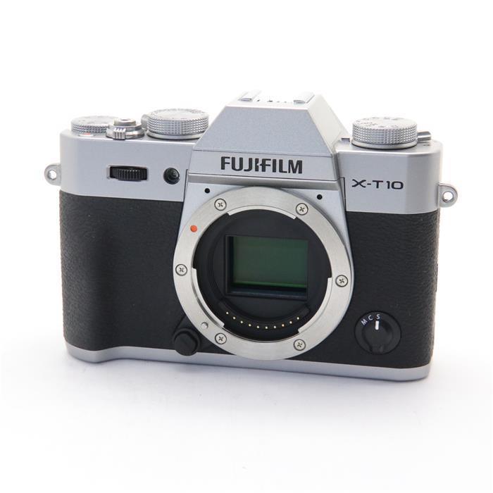 【あす楽】 【中古】 《美品》 FUJIFILM X-T10 ボディ シルバー [ デジタルカメラ ]
