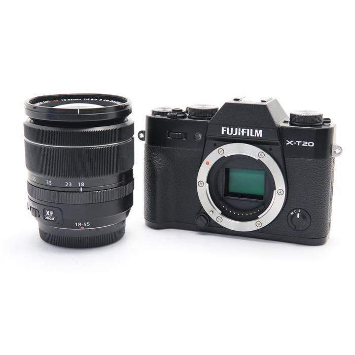 【あす楽】 【中古】 《美品》 FUJIFILM X-T20 レンズキット ブラック [ デジタルカメラ ]