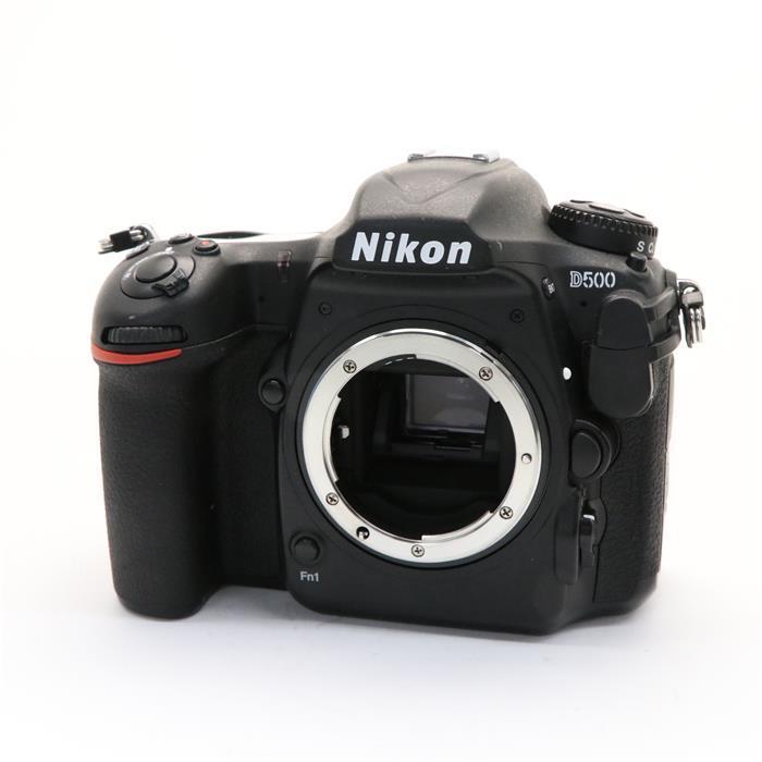 【あす楽】 【中古】 《並品》 Nikon D500 ボディ 【シャッターユニット交換/グリップラバー部品交換/各部点検済】 [ デジタルカメラ ]