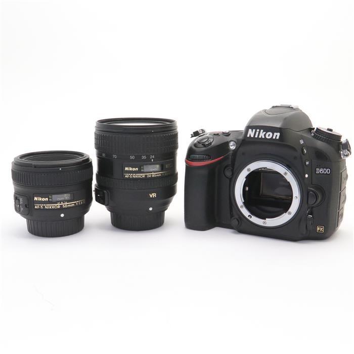 【あす楽】 【中古】 《並品》 Nikon D600 ダブルレンズキット [ デジタルカメラ ]
