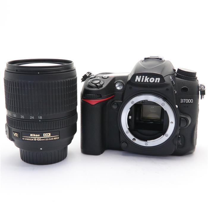 【あす楽】 【中古】 《並品》 Nikon D7000 18-105 VR レンズキット [ デジタルカメラ ]