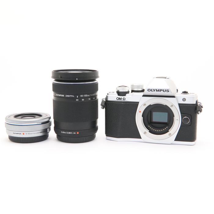 【60%OFF】 《並品》 OLYMPUS OM-D E-M10 Mark II EZダブルズームキット シルバー [ デジタルカメラ ], 西ノ島町 1bdb6c70