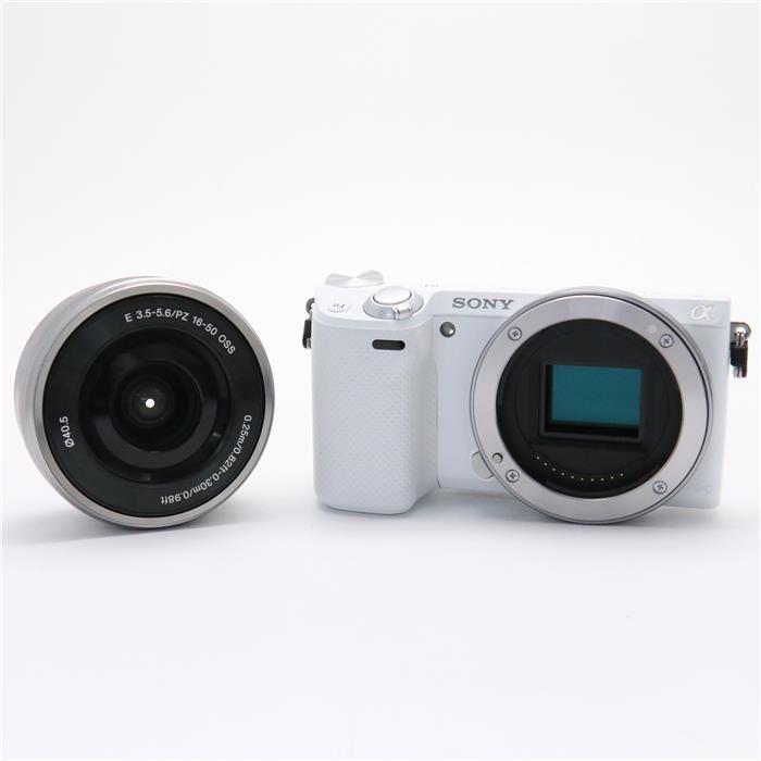 【代引き手数料無料!】 【あす楽】 【中古】 《良品》 SONY NEX-5RL パワーズームキット ホワイト [ デジタルカメラ ]