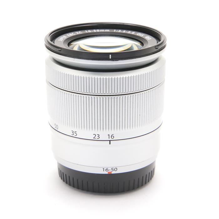 【あす楽】 【中古】 《並品》 FUJIFILM フジノン XC16-50mm F3.5-5.6 OIS シルバー [ Lens | 交換レンズ ]