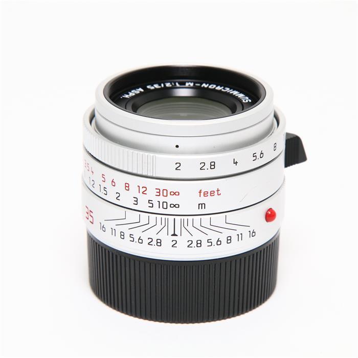 代引き手数料無料 あす楽 中古 《良品》 Leica ズミクロン F2.0 M35mm Lens 卓抜 シルバー 新登場 ASPH. 交換レンズ