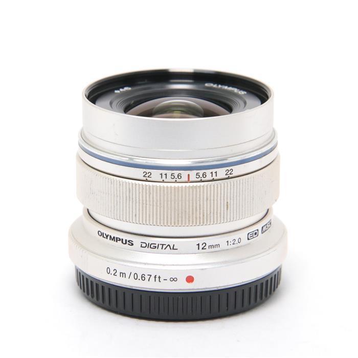 代引き手数料無料 あす楽 中古 《並品》 OLYMPUS M.ZUIKO DIGITAL 交換レンズ マイクロフォーサーズ シルバー F2.0 12mm 送料無料限定セール中 特売 ED Lens