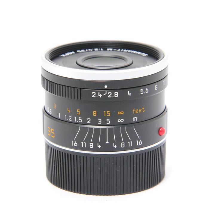 代引き手数料無料 あす楽 中古 《良品》 Leica ズマリット F2.4 交換レンズ M35mm 商店 ASPH. Lens 日時指定 ブラック