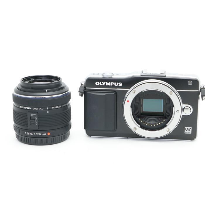 【あす楽】 【中古】 《良品》 OLYMPUS PEN mini E-PM2 レンズキット ブラック [ デジタルカメラ ]