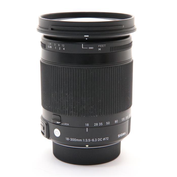 【あす楽】 【中古】 《並品》 SIGMA C 18-300mm F3.5-6.3 DC MACRO OS HSM(ニコン用) [ Lens | 交換レンズ ]