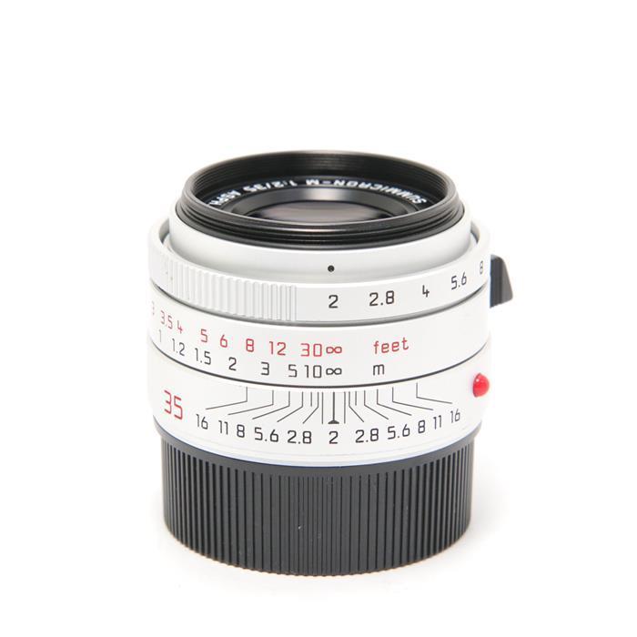 特価 代引き手数料無料 あす楽 中古 《良品》 Leica ズミクロン 卓出 ASPH. M35mm F2.0 シルバー Lens 交換レンズ