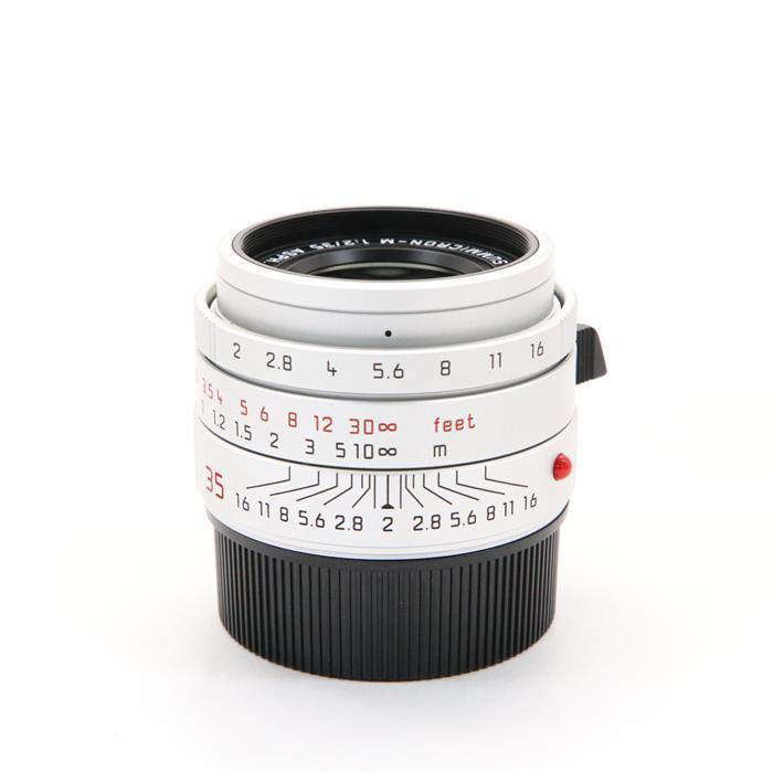 代引き手数料無料 あす楽 中古 《良品》 人気 おすすめ Leica ズミクロン お気に入り Lens シルバー F2.0 ASPH. M35mm 交換レンズ
