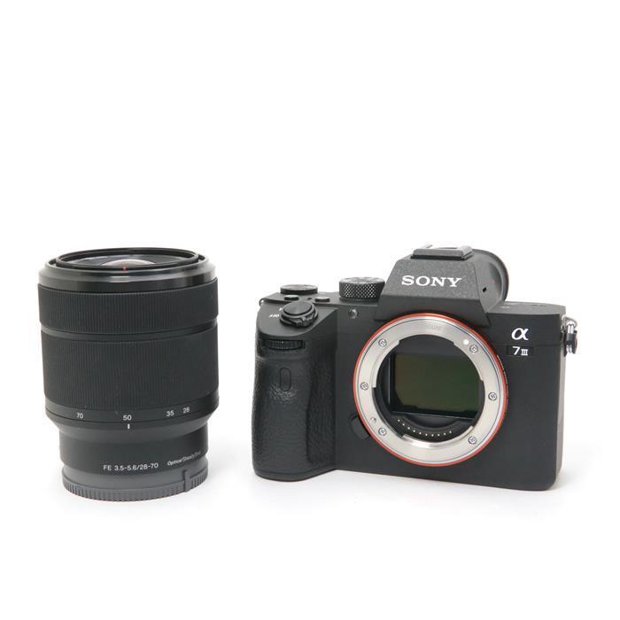 代引き手数料無料 即納 あす楽 SALE 中古 《美品》 SONY デジタルカメラ ILCE-7M3K α7III レンズキット