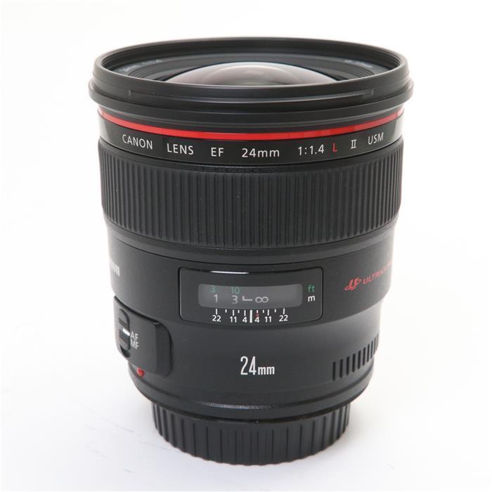最新号掲載アイテム 代引き手数料無料 あす楽 期間限定お試し価格 中古 《美品》 Canon EF24mm F1.4L 交換レンズ Lens USM II