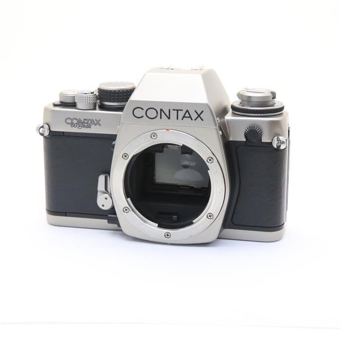 【あす楽】 【中古】 《美品》 CONTAX S2 (60周年ロゴ有) 【露出計調整/各部点検済】